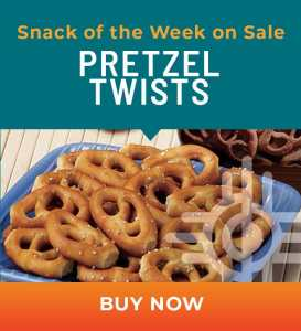 Snack of the Week on Sale: Pretzel Twists