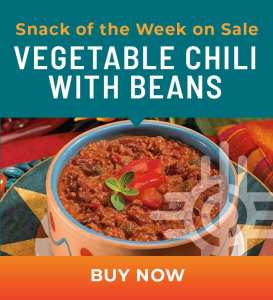 Snack of the Week on Sale: Vegetable Chili with Beans