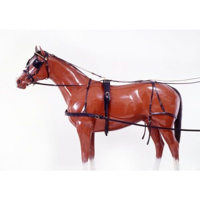 Tough 1 Leather Horse Harness
