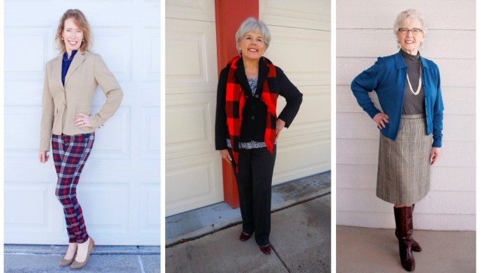 Plaid for the 50's, 60's & 70's