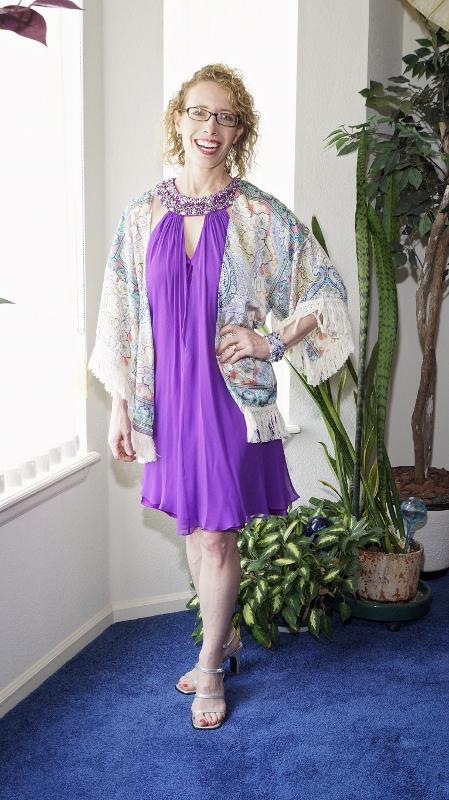 Kimono topper for women over 50
