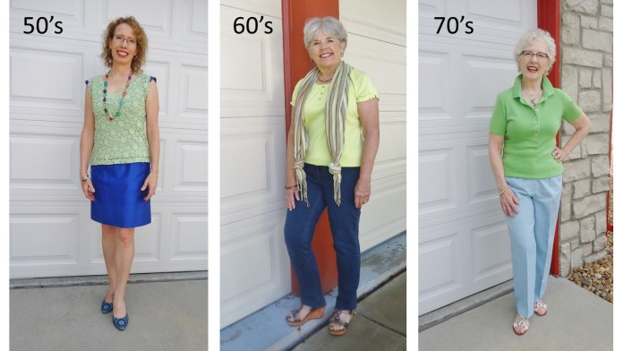 Lime Green for the 50's, 60's, & 70's.