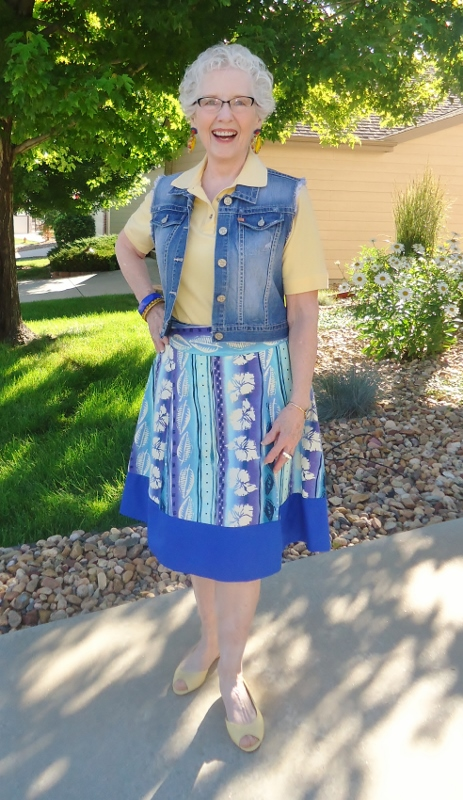 A-Line Skirts for the 50's, 60's, & 70's