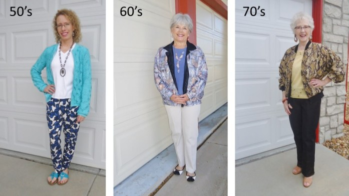 Bomber Jacket for Women ages 50, 60 & 70