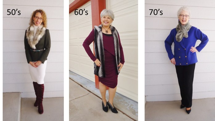 Fur for women in their 50's. 60's. & 70's