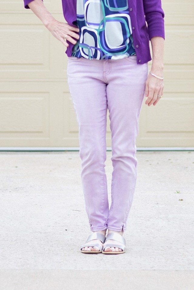 Lilac for women in their 50's, 60's & 70's.