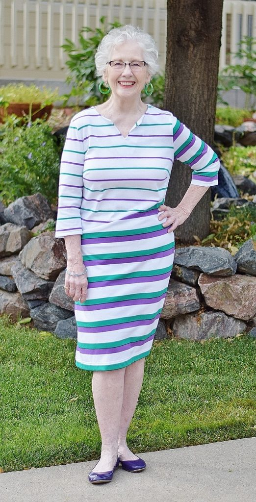 T-Shirt Dress for Women in their 50's, 60's & 70's
