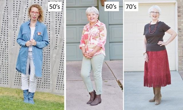 Fashion for Women in their 50's, 60's, & 70's.