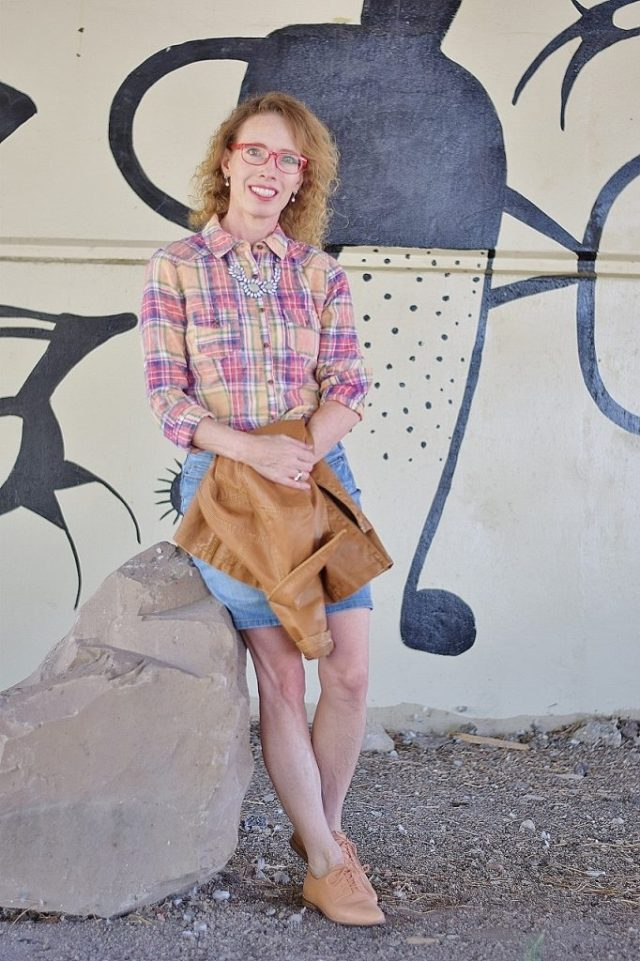 Plaid Collaboration with women in their 40's, 50's, 60's & 70's.
