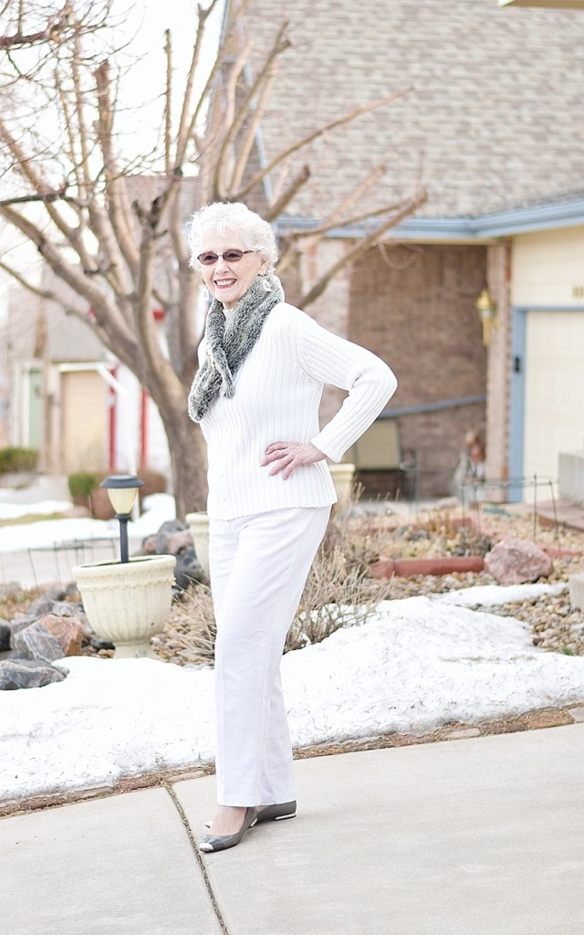 Winter White for 3 Generations of Women over 40.