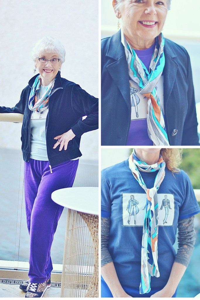 Women Over 40 & Styling Scarves