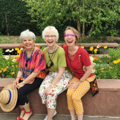 3 Generations of Women having fun!