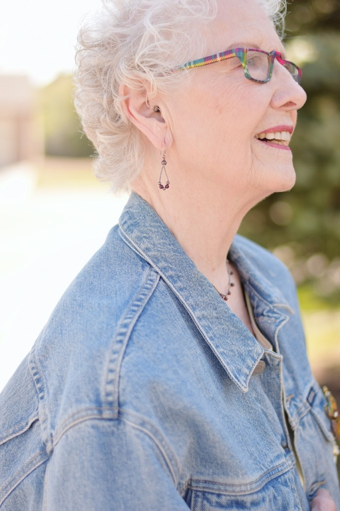 Denim Jean Jackets work for Women over 70