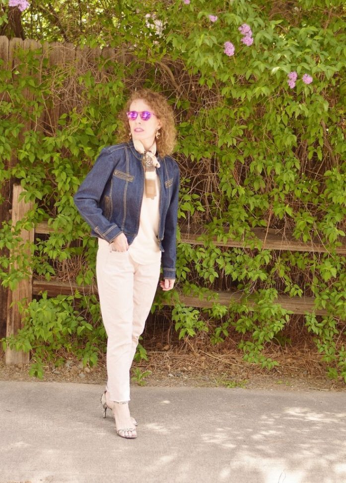 Style with jean jackets for women over 50