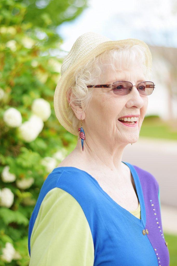 Women 70+ at an Outdoor Summer Event