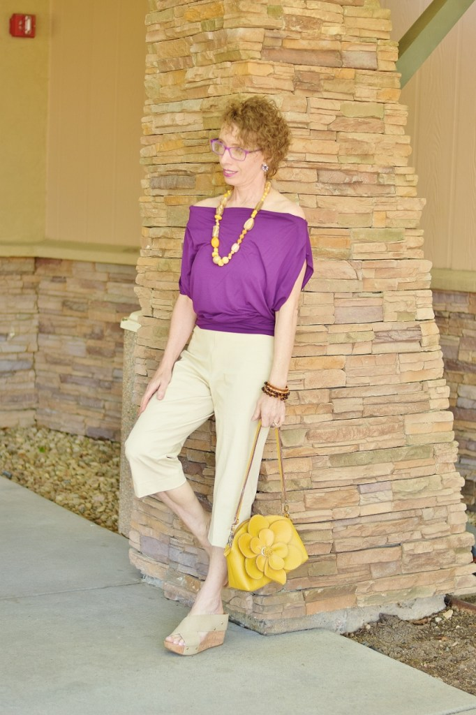Capri Pants Outfit for Women over 50