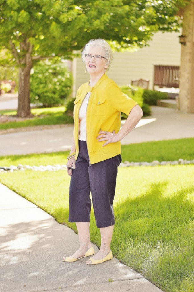 Capris Pants for Women over 70