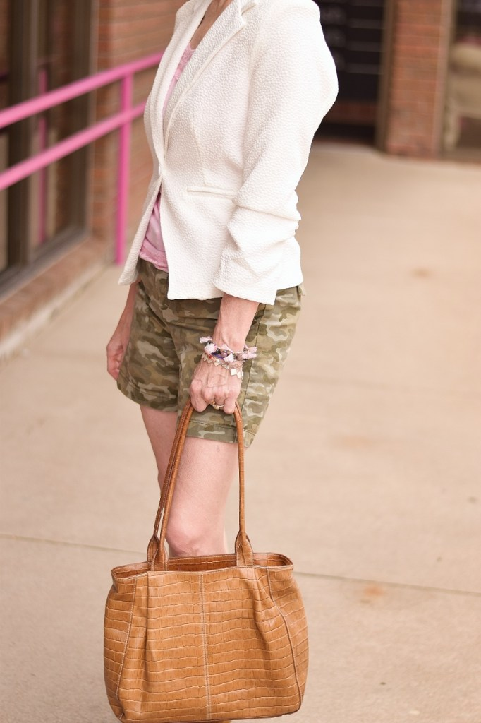 camo and lace for 50+ women