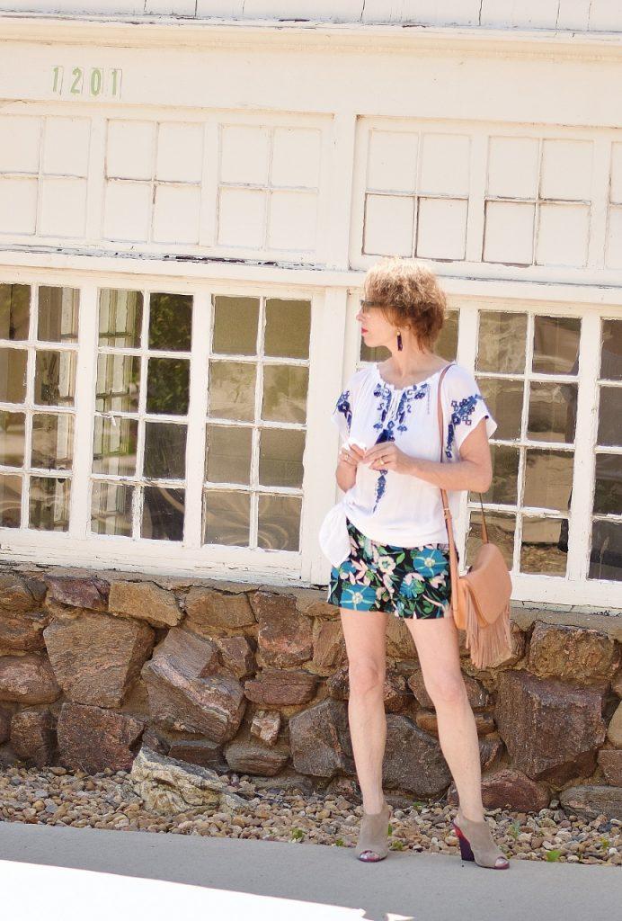 Women 50+ wearing summer shirts