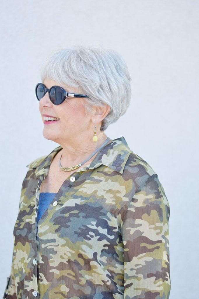 camo & denim for women over 60