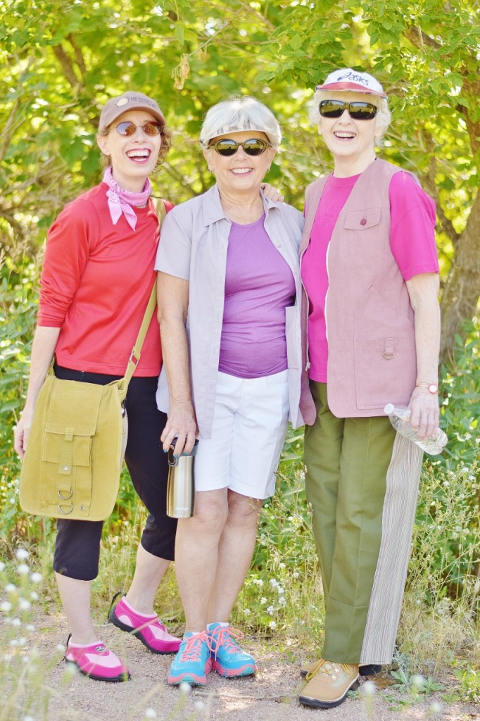 Outdoor Style while Hiking for Women over 50