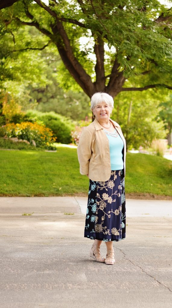 Layering for Fall for Women over 60