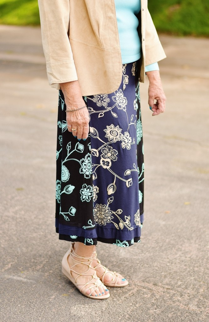 Layering with Summer Skirts