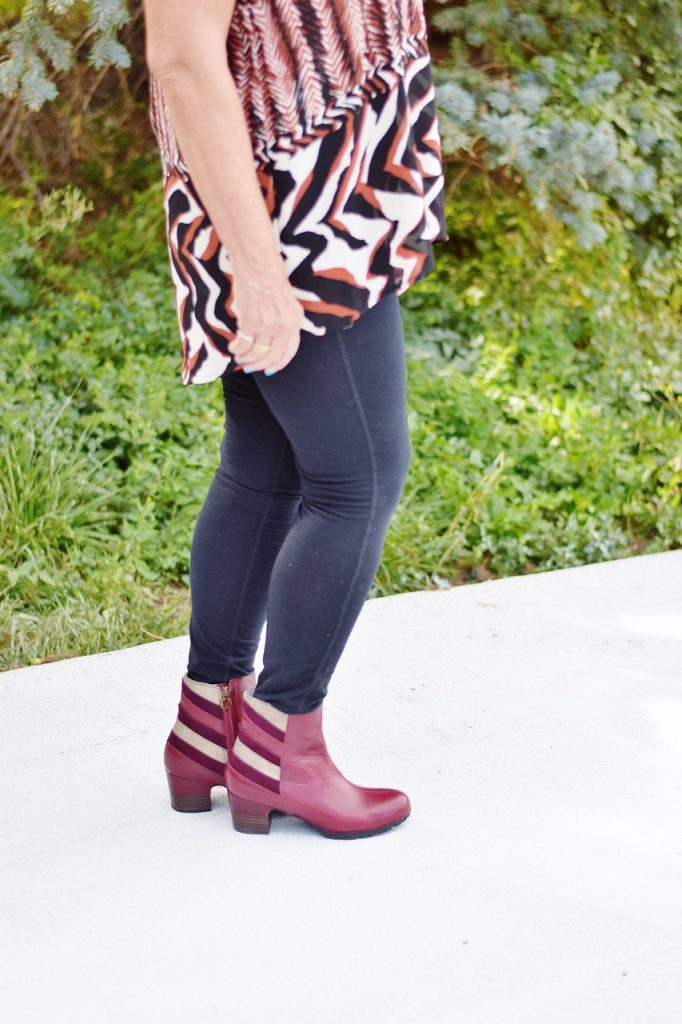 Jambu Shoes as ankle boots