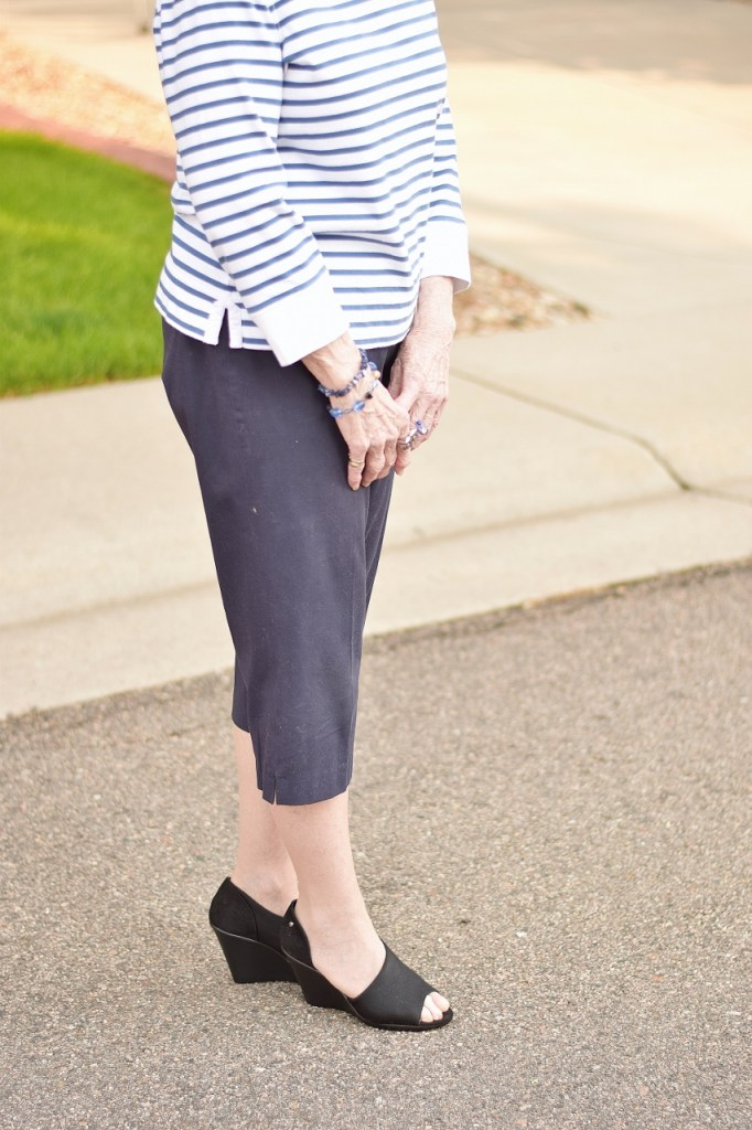 Capris in a French Chic Style