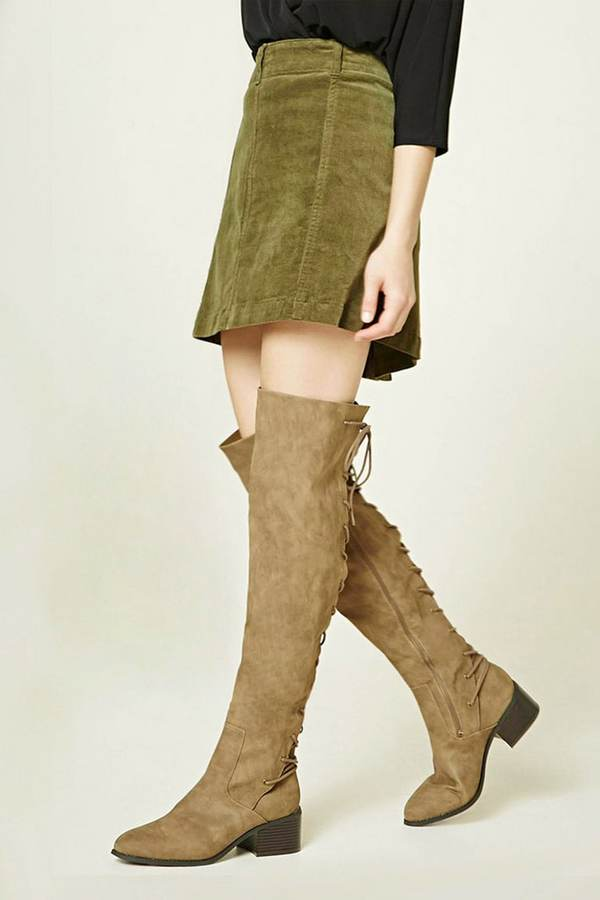 Fall Trends with over the knee boots