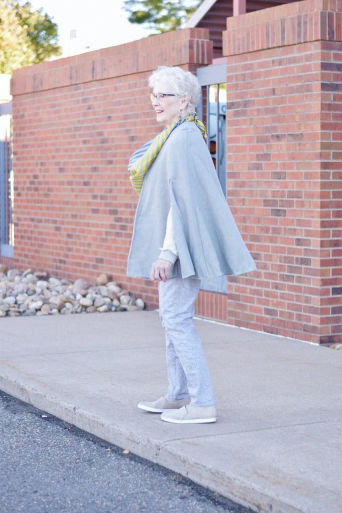 Women 70+ wearing coats