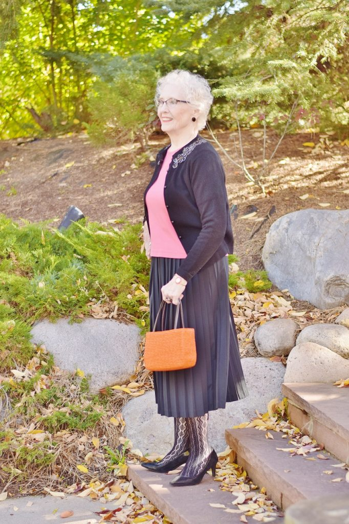 Orange and Black for Women over 70