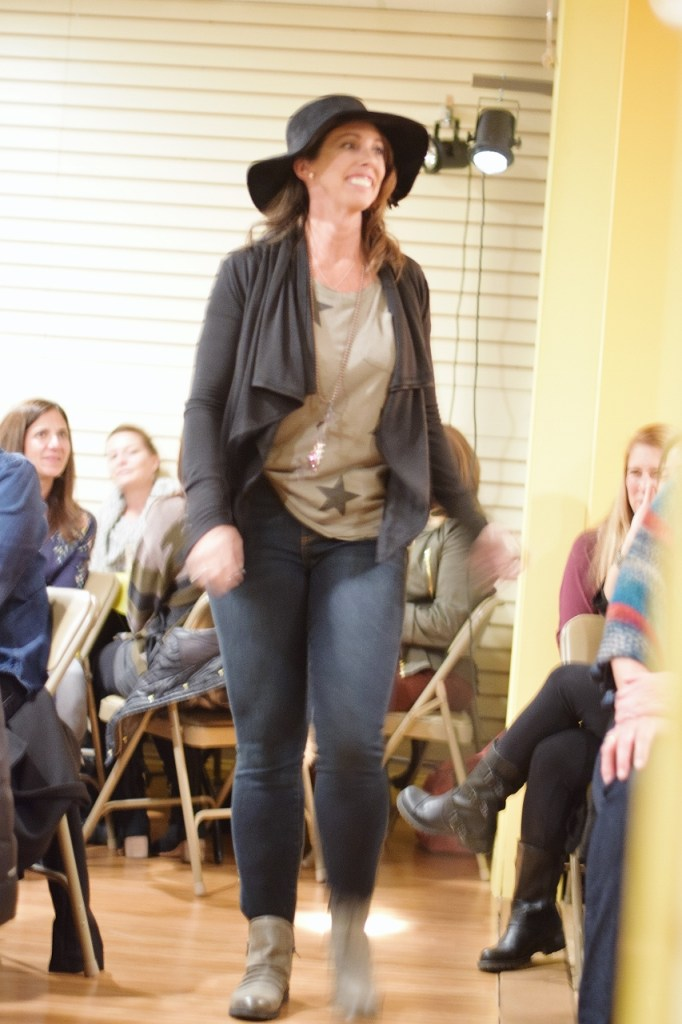 Stars and hats at the fall fashion show