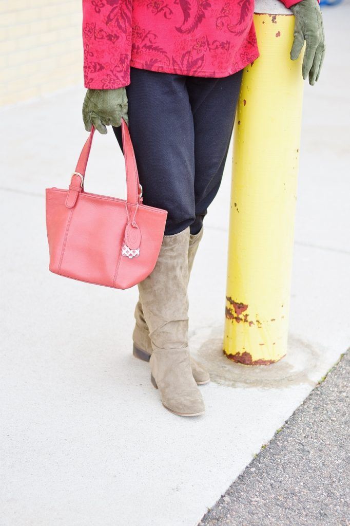 Holiday inspired looks with red
