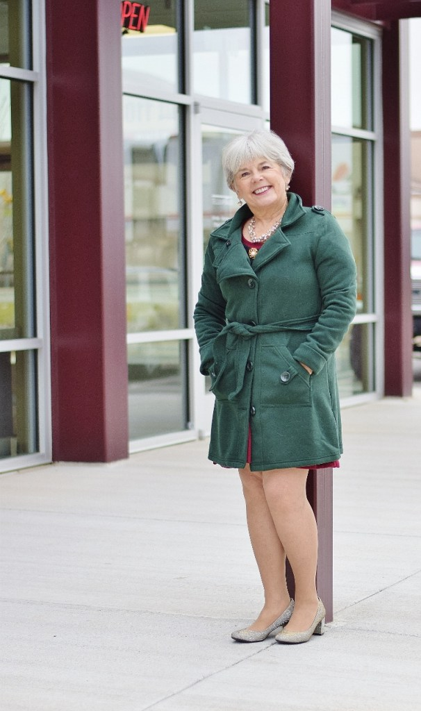 Dressing up for the holidays for women over 60