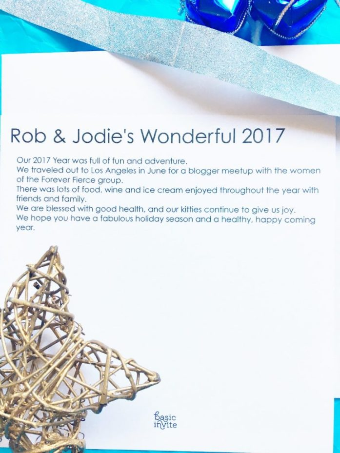 message on holiday cards