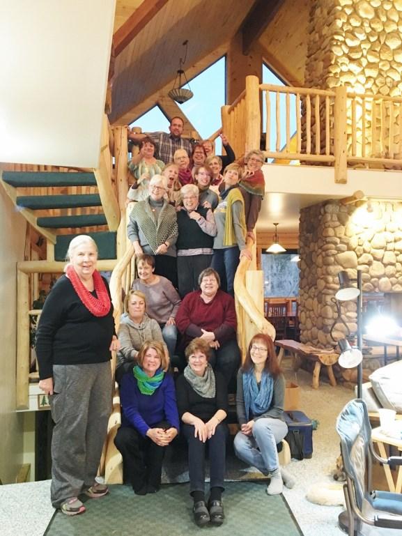 Liars Lodge Knitting Retreat
