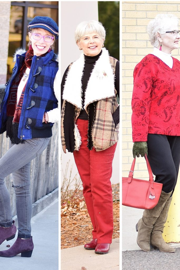 Holiday inspired looks for 3 generations