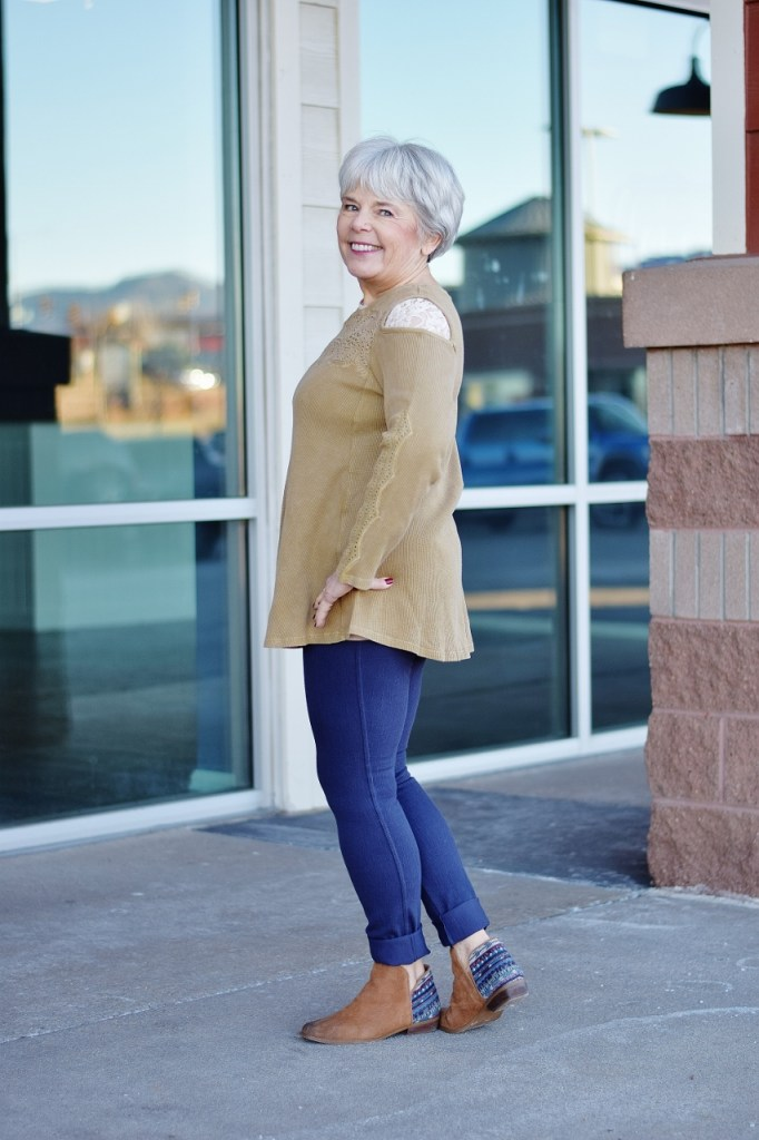 Sweater Weather styled for women age 60+