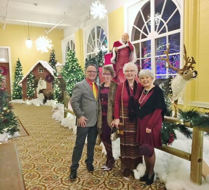 Christmas dinner in Glenwood Springs
