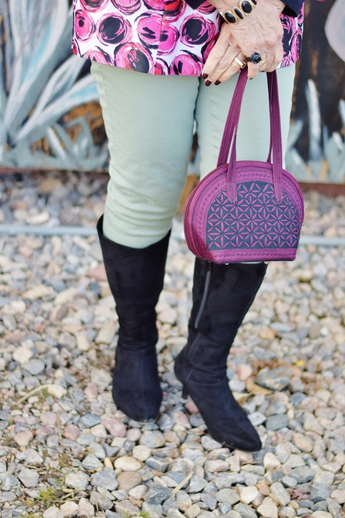 How to style Pink and Green for women with other colors