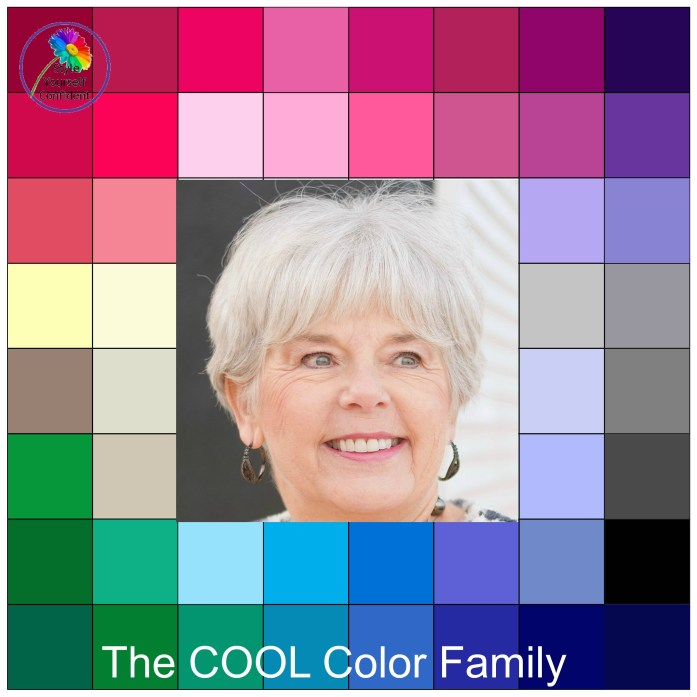 Your colors for a cool color family woman