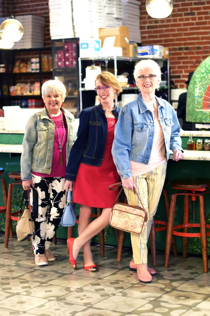 how to wear a denim jacket over 50