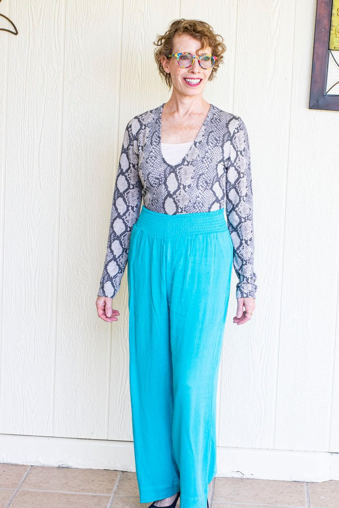 Snakeskin and turquoise
