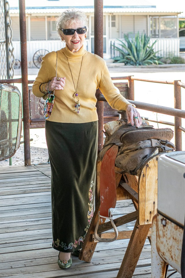 Bohemian style for older ladies