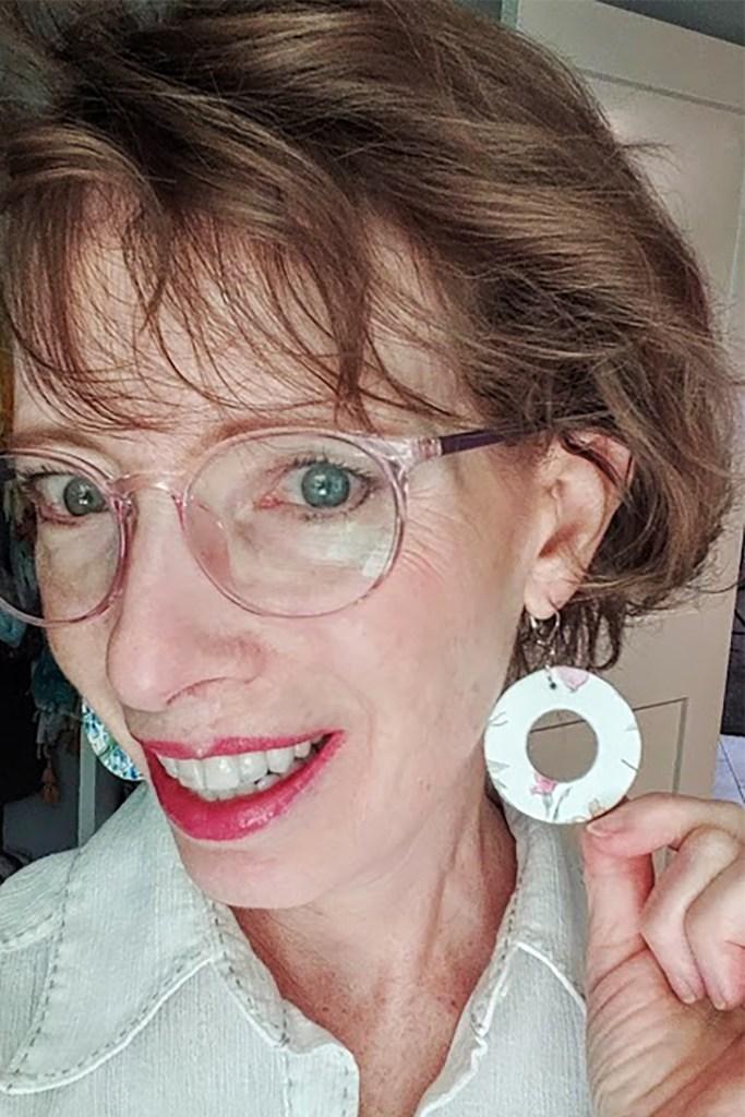 Mariposa Skies earrings won in May