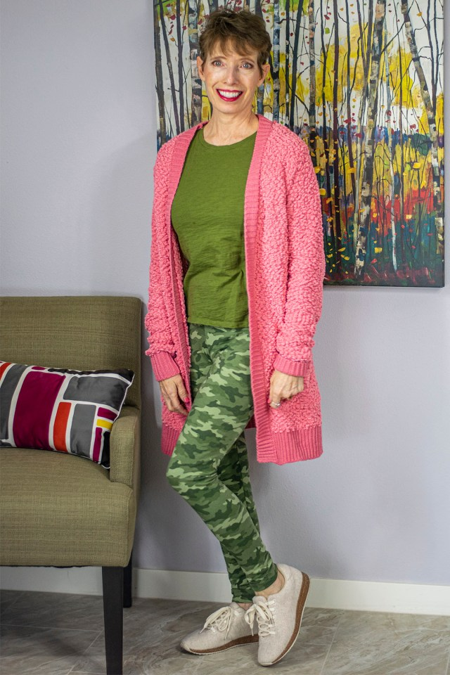 How to wear a long cardigan for petites