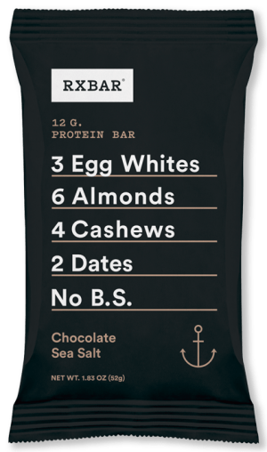 RXBar packaging