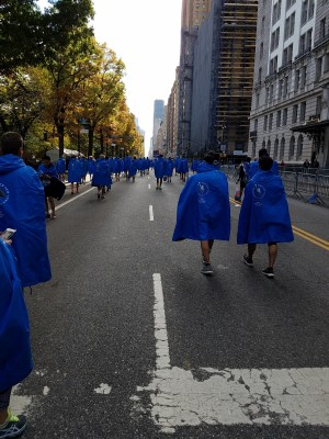2016 NYCM March of the Ponchos