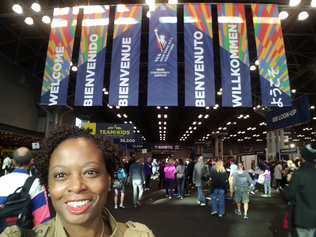 2016 NYCM Me with Expo Banner
